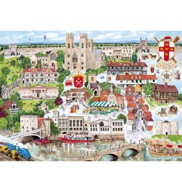 Gibsons 1000PC PUZZLE - YORK