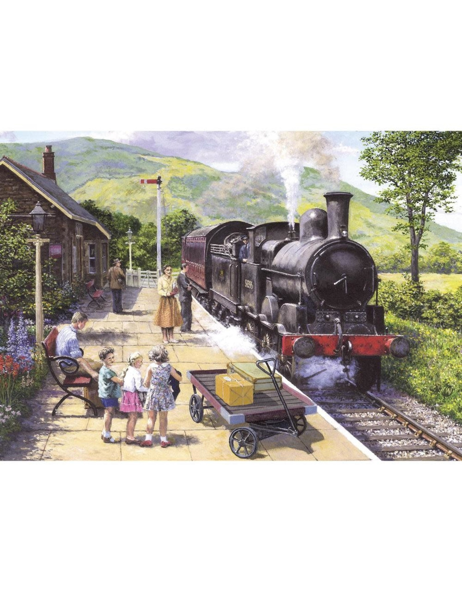 Gibsons 1000PC PUZZLE - ALL ABOARD TO KESWICK