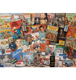 Gibsons 1000PC PUZZLE - SPIRIT OF THE 50'S