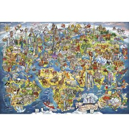 Gibsons 1000PC PUZZLE - WONDERFUL WORLD