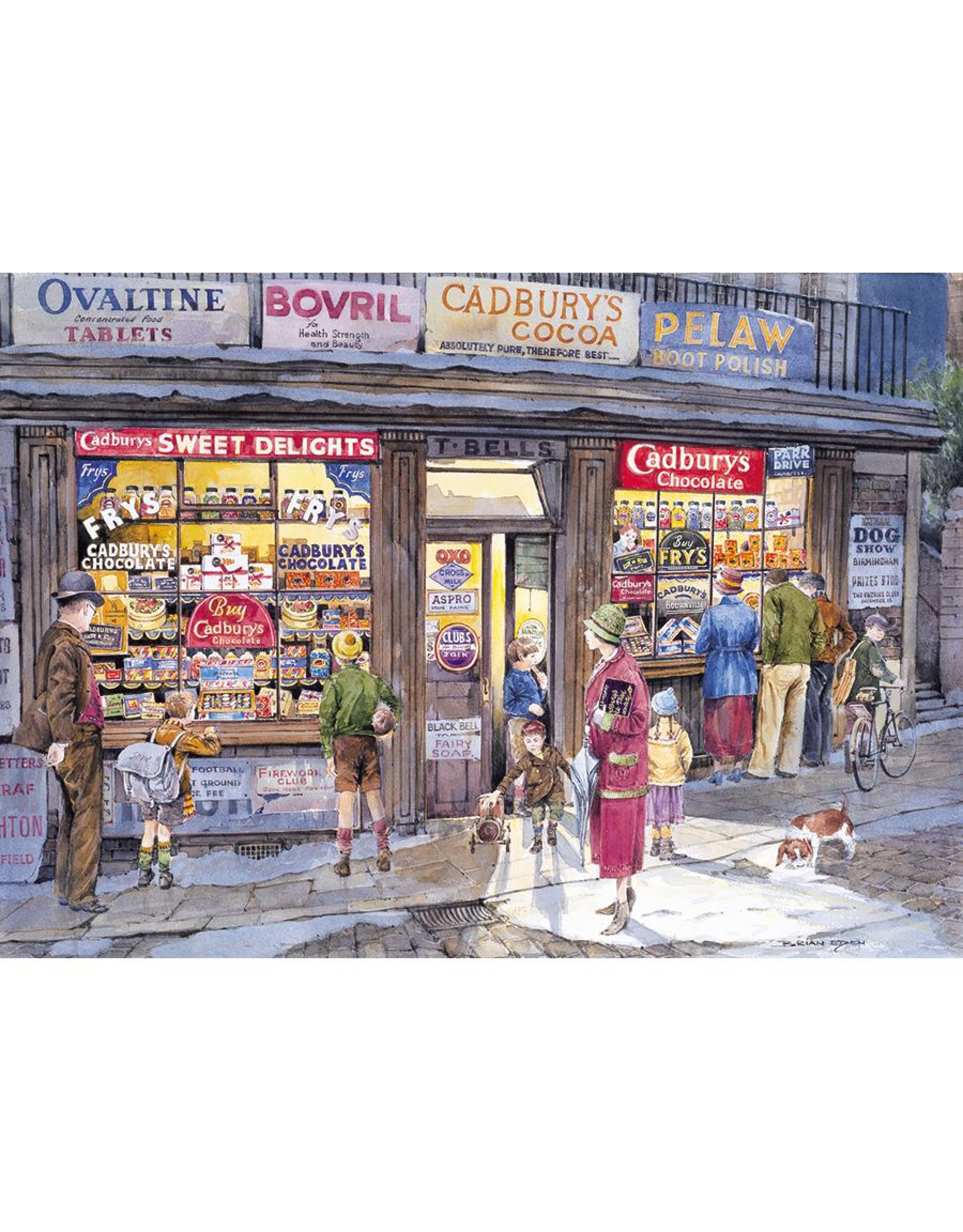 Gibsons 500PC PUZZLE - THE CORNER SHOP