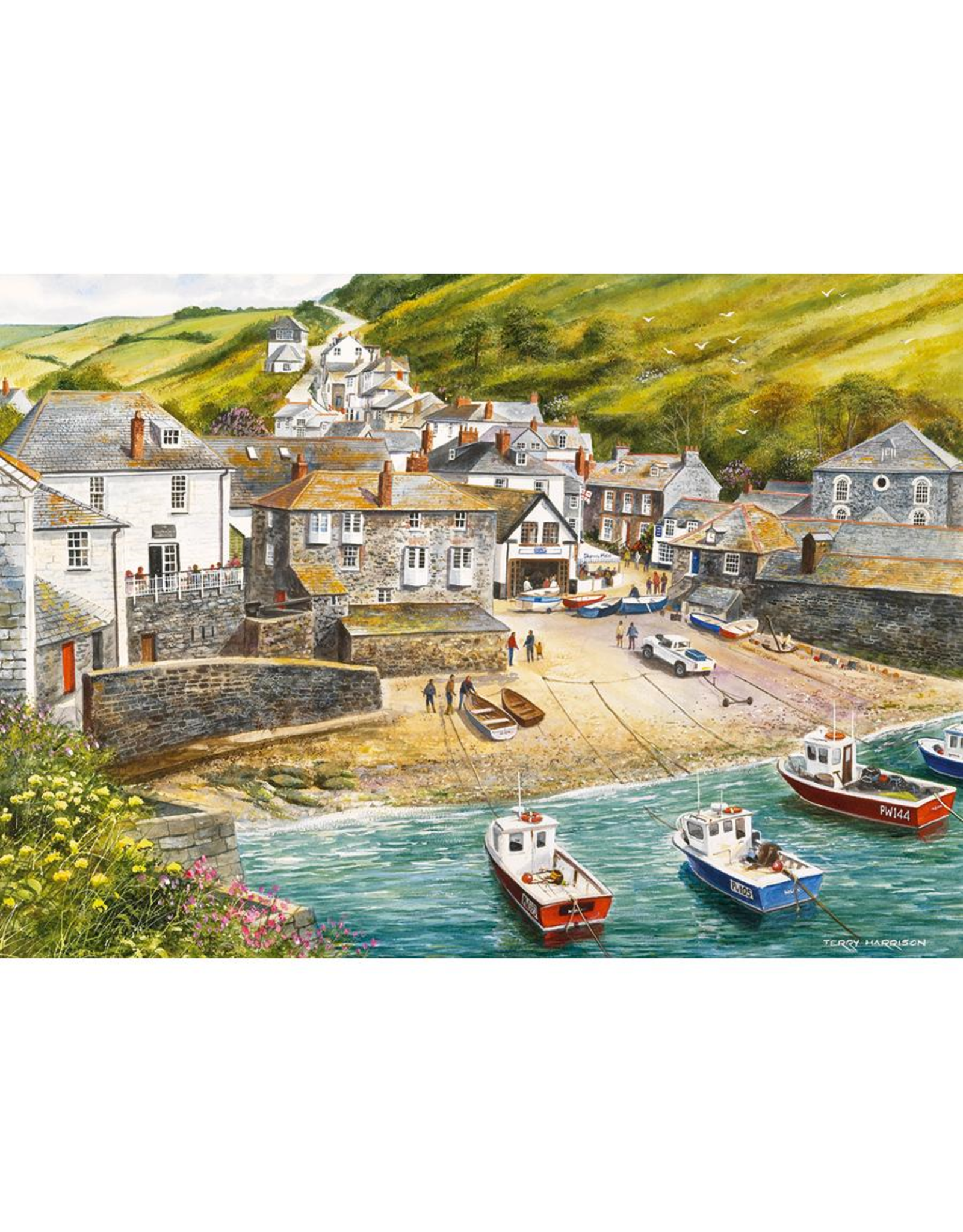 Gibsons 500PC PUZZLE - PORT ISAAC