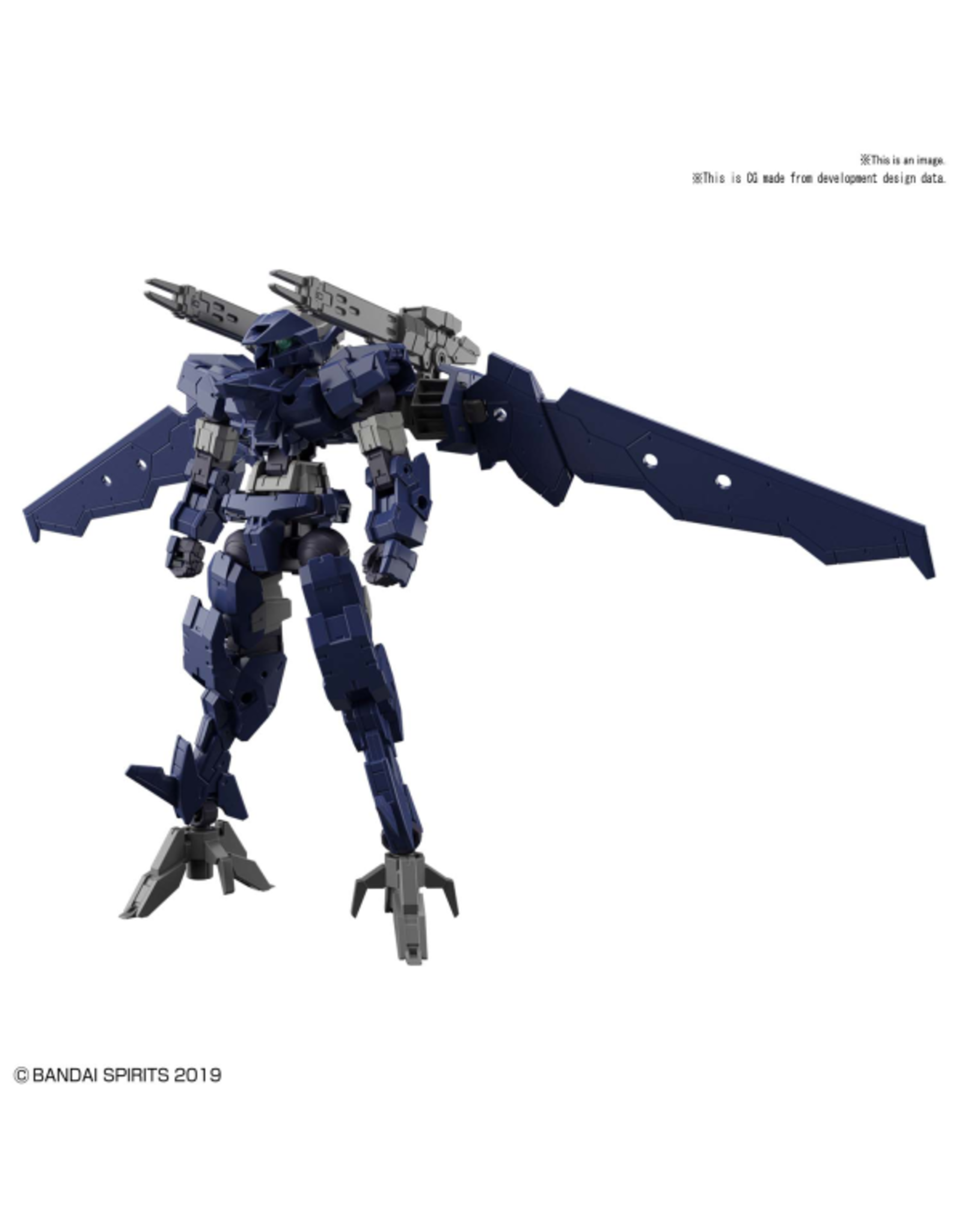 BANDAI 30MM 1:144 EEXM-17 ALTO (FLIGHT TYPE) [NAVY]