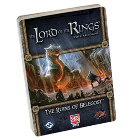 Fantasy Flight LORD OF THE RINGS LCG: RUINS OF BELEGOST QUEST POD