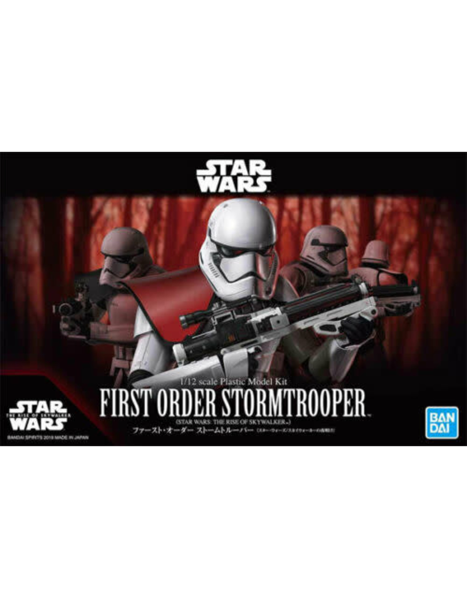BANDAI 1:12 FIRST ORDER STORMTROOPER (THE RISE OF SKYWALKER)