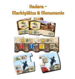 Z-MAN GAMES HADARA: MARKETPLACES & MONUMENTS MINI EXPANSION (STREET DATE TBD)