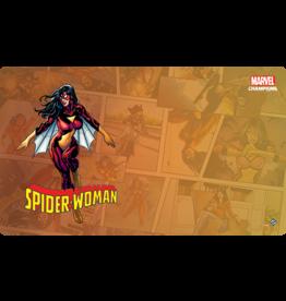 Fantasy Flight MARVEL CHAMPIONS LCG: GAME MAT - SPIDER-WOMAN