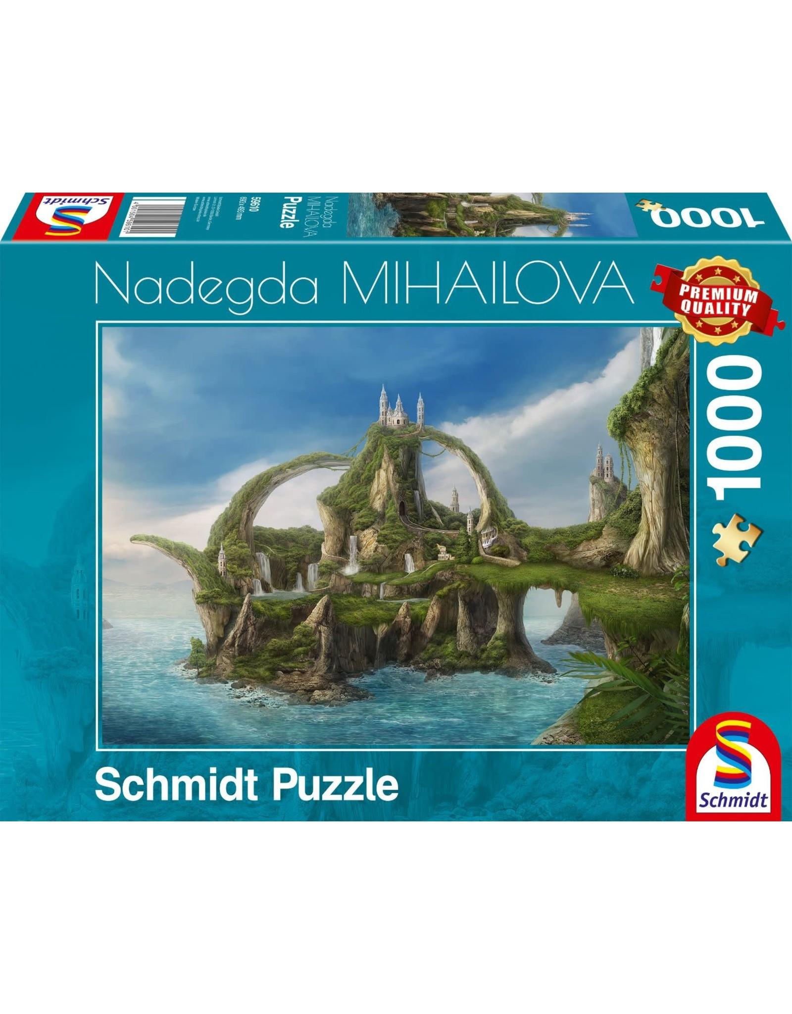 Schmidt 1000PC PUZZLE - ISLAND OF WATERFALLS