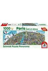 Schmidt 1000PC PUZZLE - PARIS