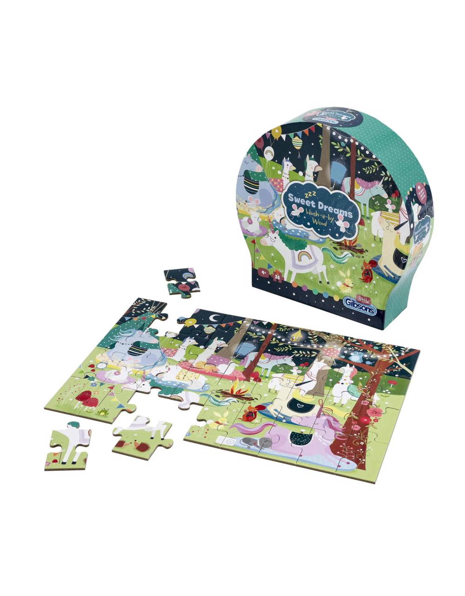 Gibsons 36PC PUZZLE - SWEET DREAMS