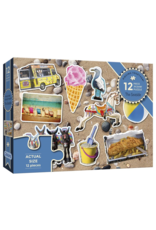 Gibsons 12PC XXL PUZZLE - AT THE SEASIDE