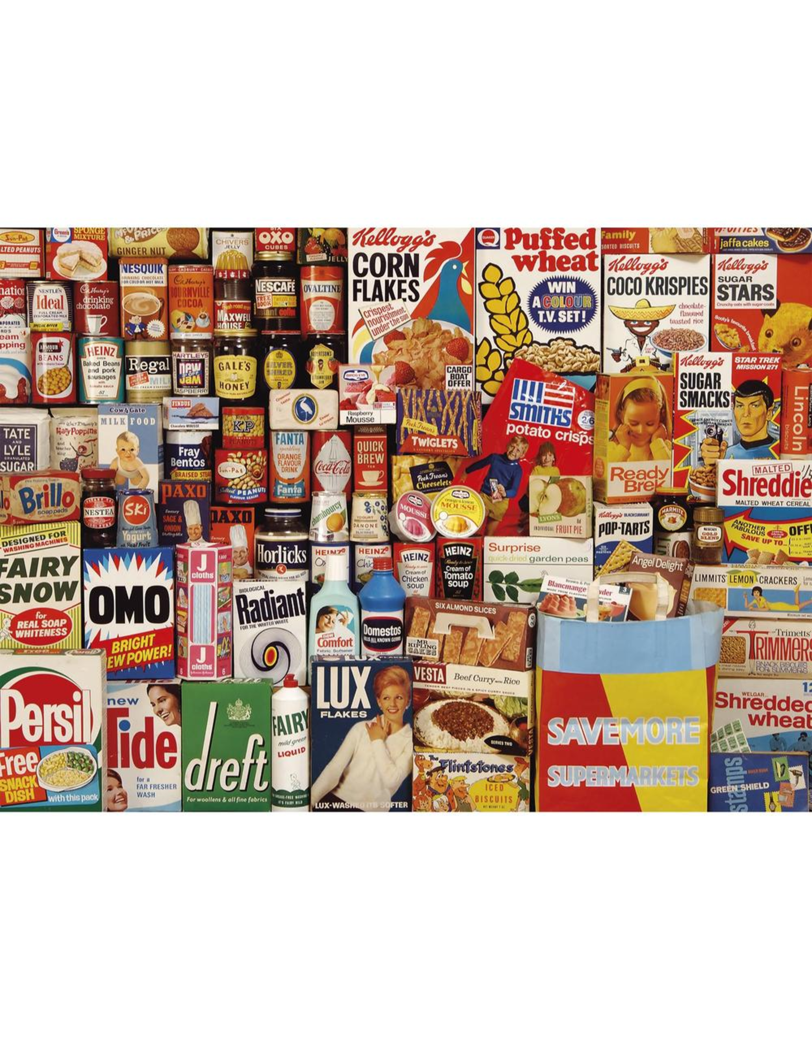 Gibsons 40PC PUZZLE - SHOPPING BASKET
