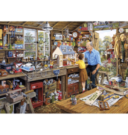 Gibsons 40PC PUZZLE - GRANDAD'S WORKSHOP