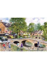 Gibsons 1000PC PUZZLE - BOURTON ON THE WATER