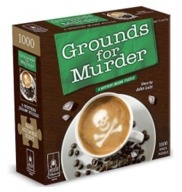 University Games 1000PC PUZZLE - GROUNDS FOR MURDER