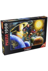 Anatolian 1000PC PUZZLE - PLANETS IN SPACE