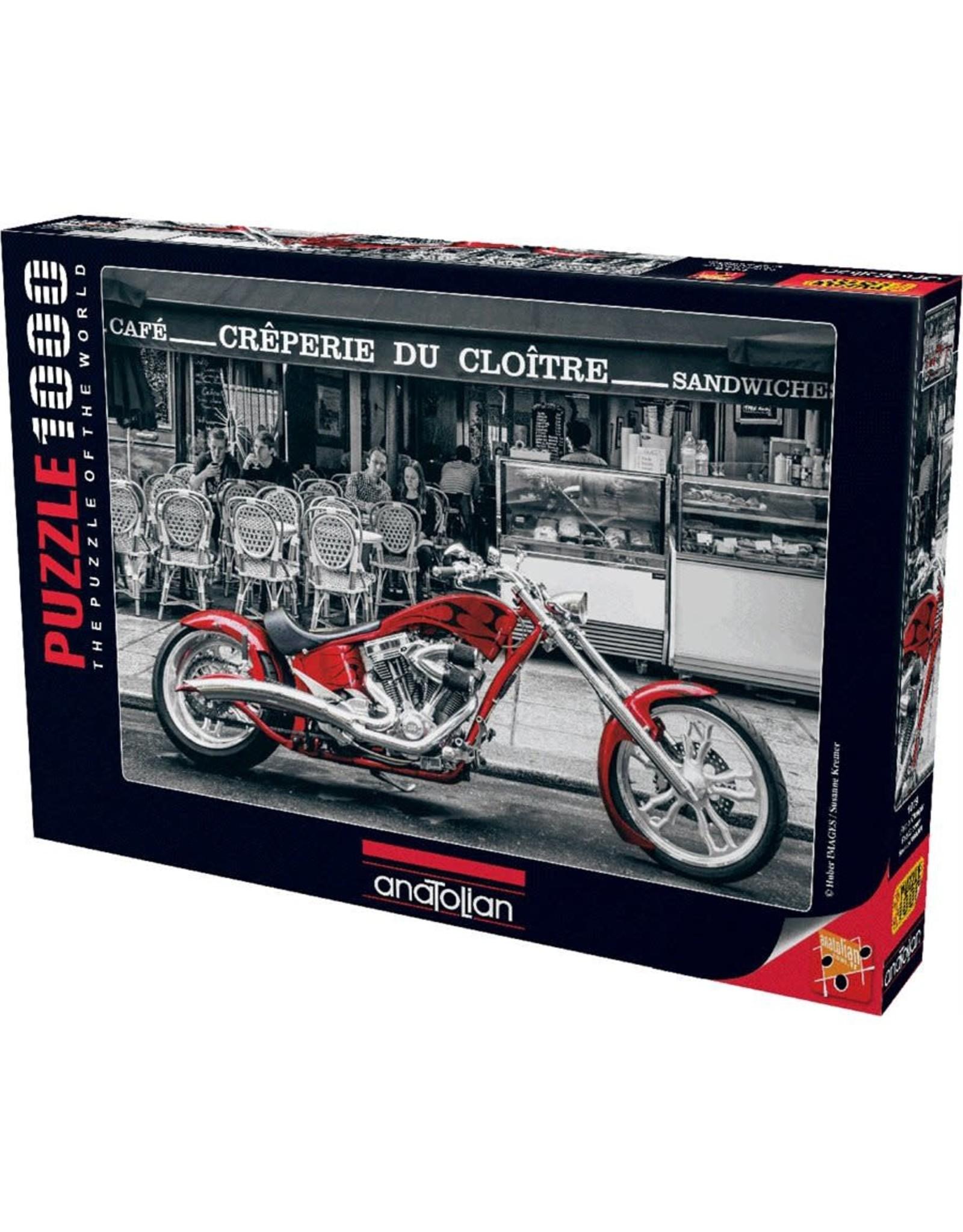 1000PC PUZZLE - RED CHOPPER