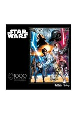 1000PC PUZZLE - STAR WARS THE CIRCLE