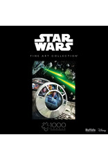 1000PC PUZZLE - STARWARS FINE ART DON'T TELL ME THE ODDS