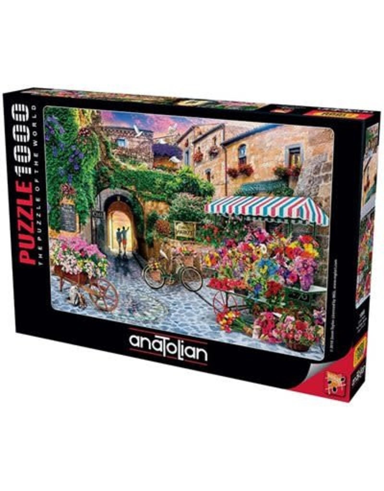 Anatolian 1000PC PUZZLE - THE FLOWER MARKET