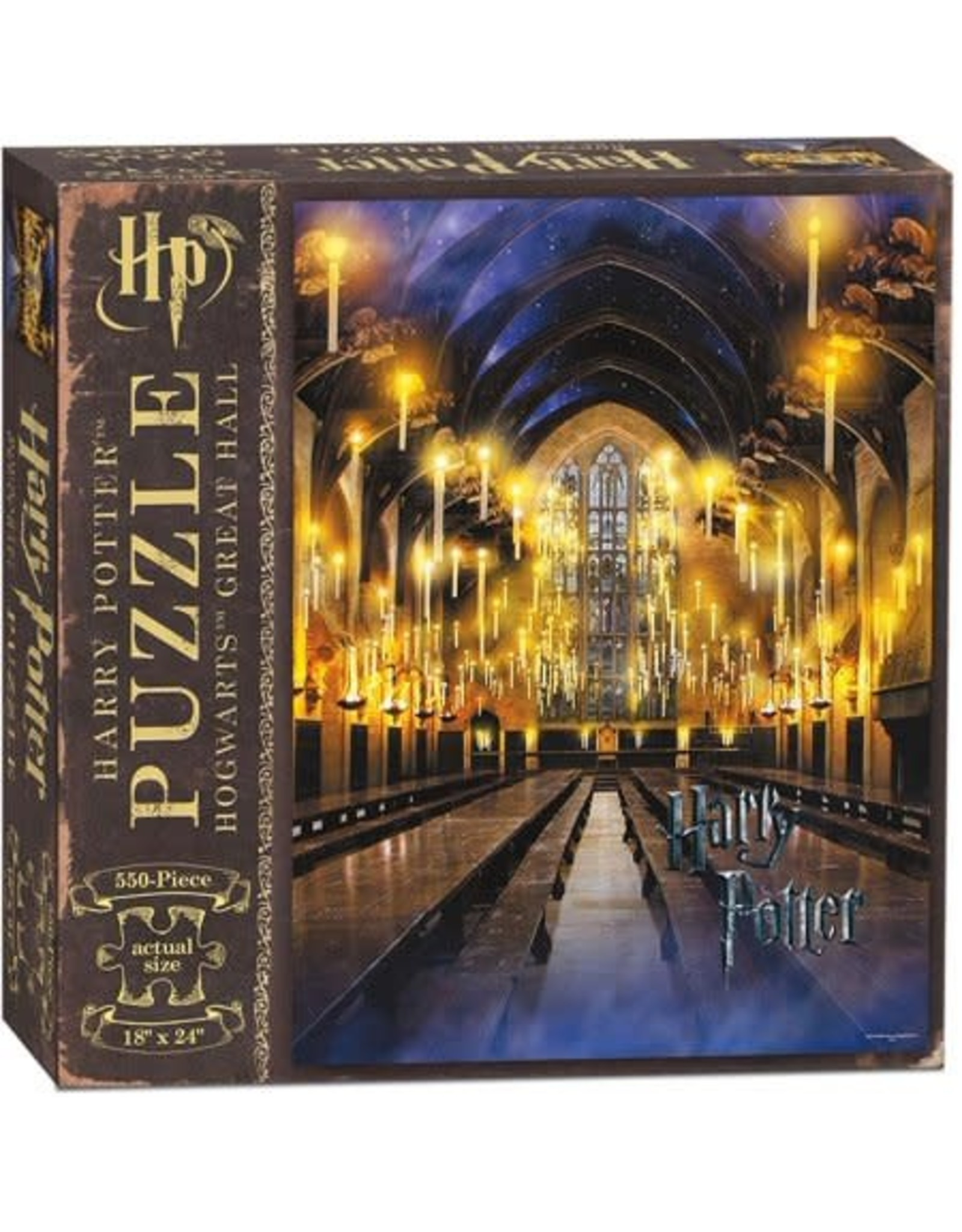 550PC PUZZLE - HARRY POTTER AND THE GREAT HALL