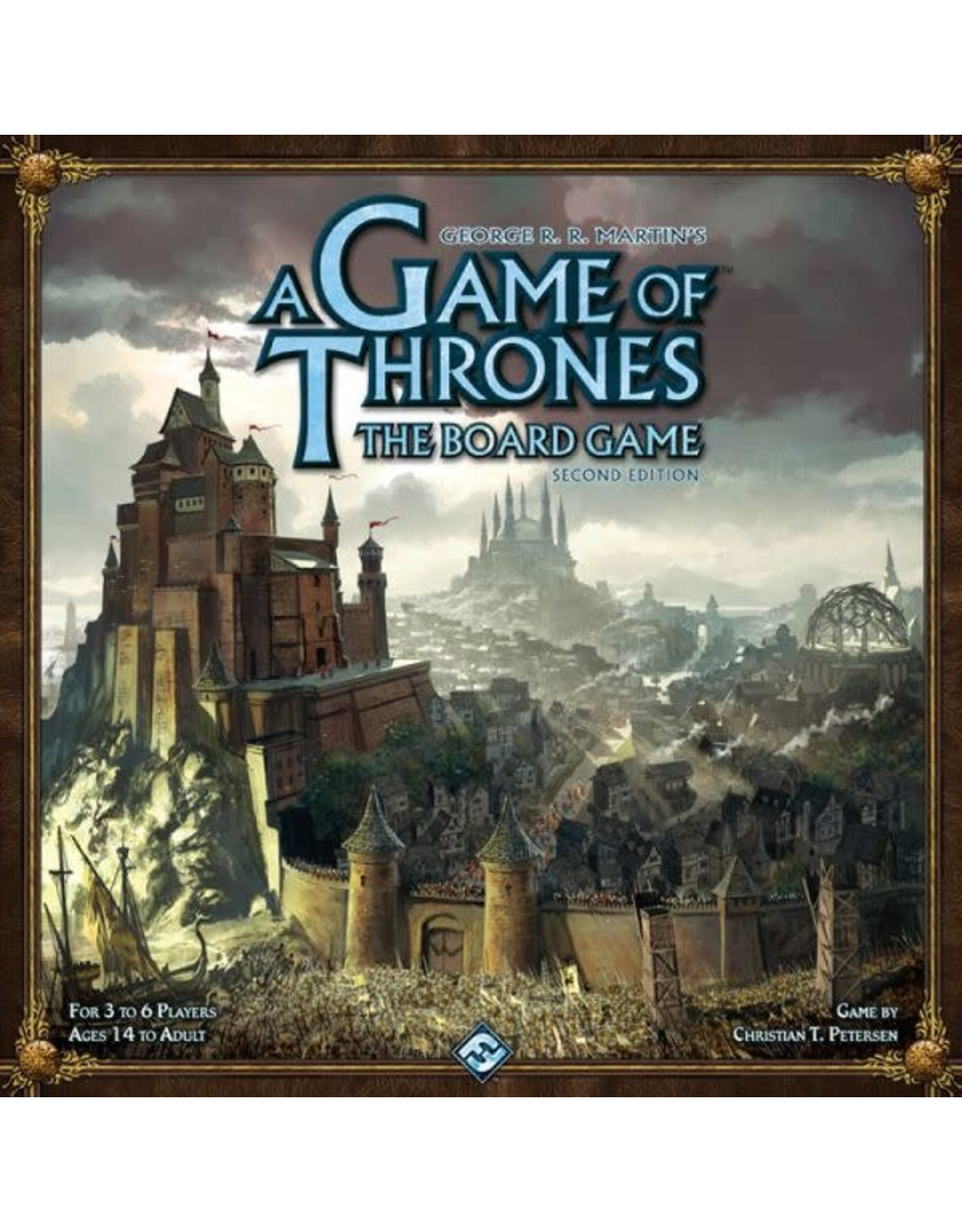 Fantasy Flight A GAME OF THRONES: THE BOARD GAME (SECOND EDITION) - A DANCE WITH DRAGONS