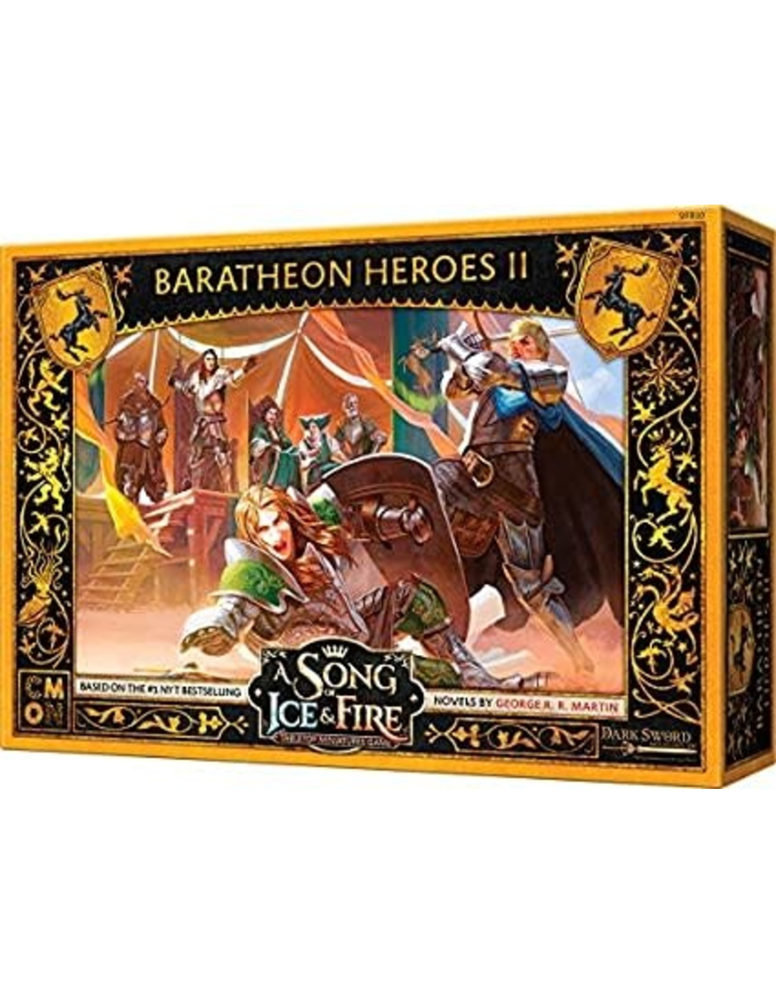 CMON A SONG OF ICE & FIRE: BARATHEON HEROES #2