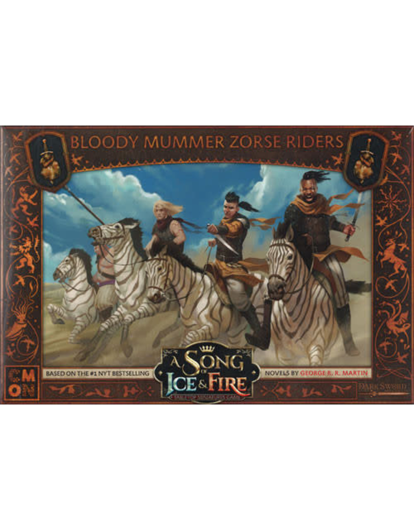 CMON A SONG OF ICE & FIRE: BLOODY MUMMERS ZORSE RIDERS