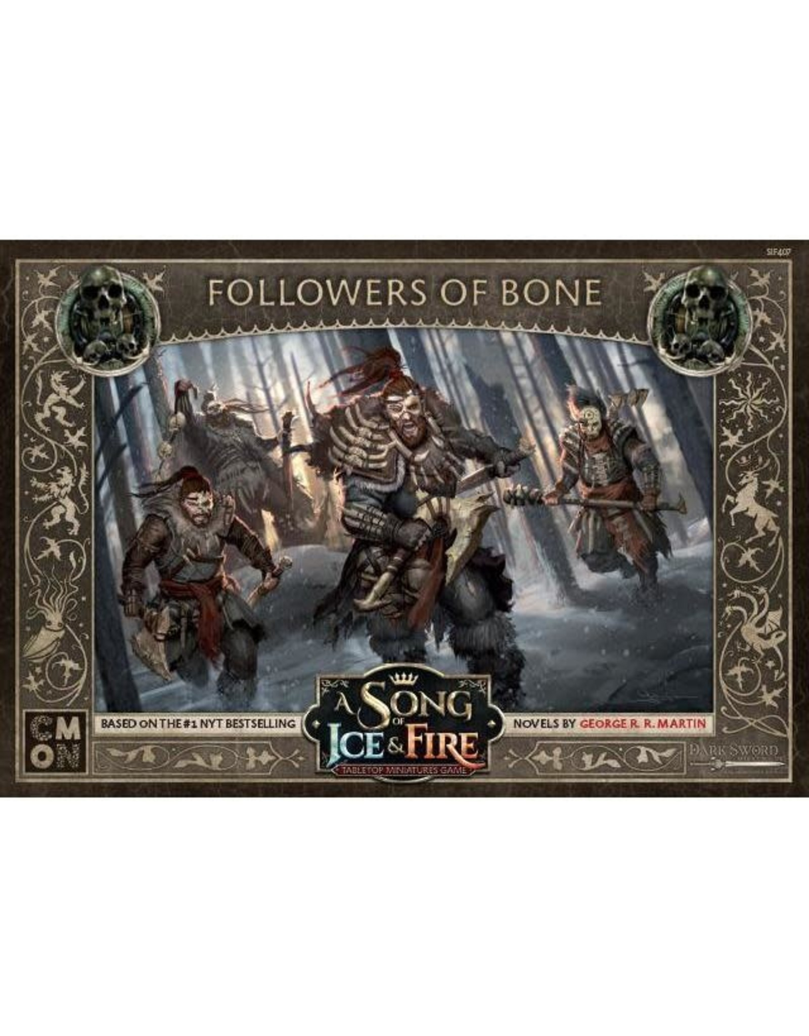 CMON A SONG OF ICE & FIRE: FREE FOLK FOLLOWERS BONE