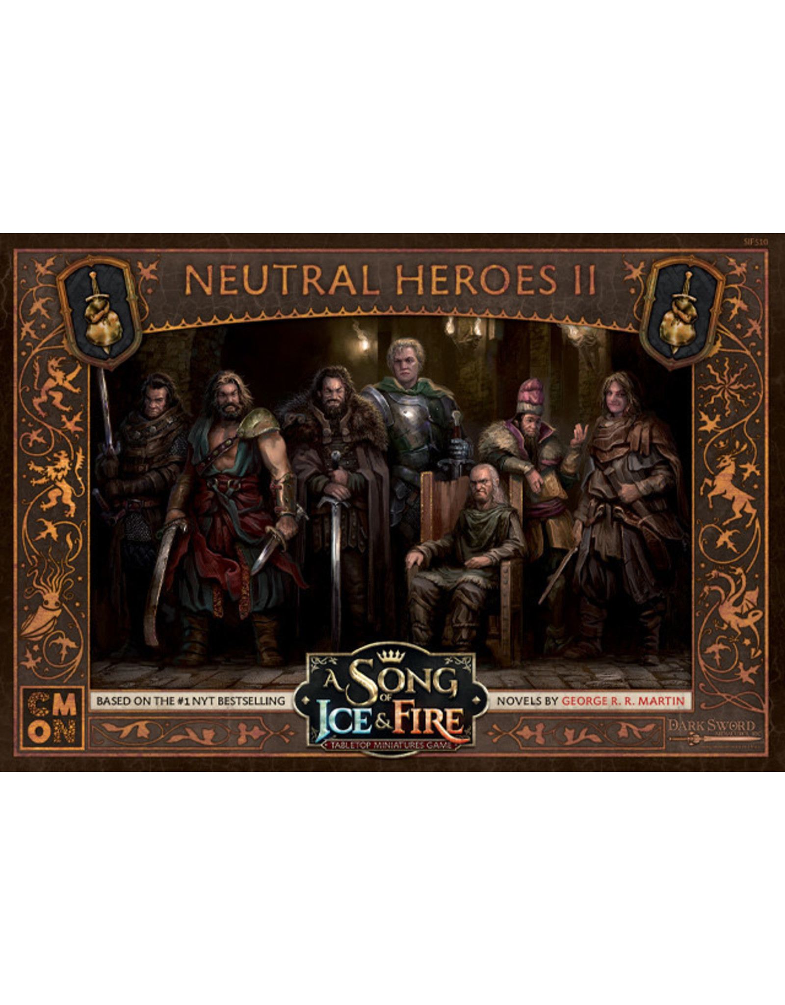 CMON A SONG OF ICE & FIRE: NEUTRAL HEROES BOX 2
