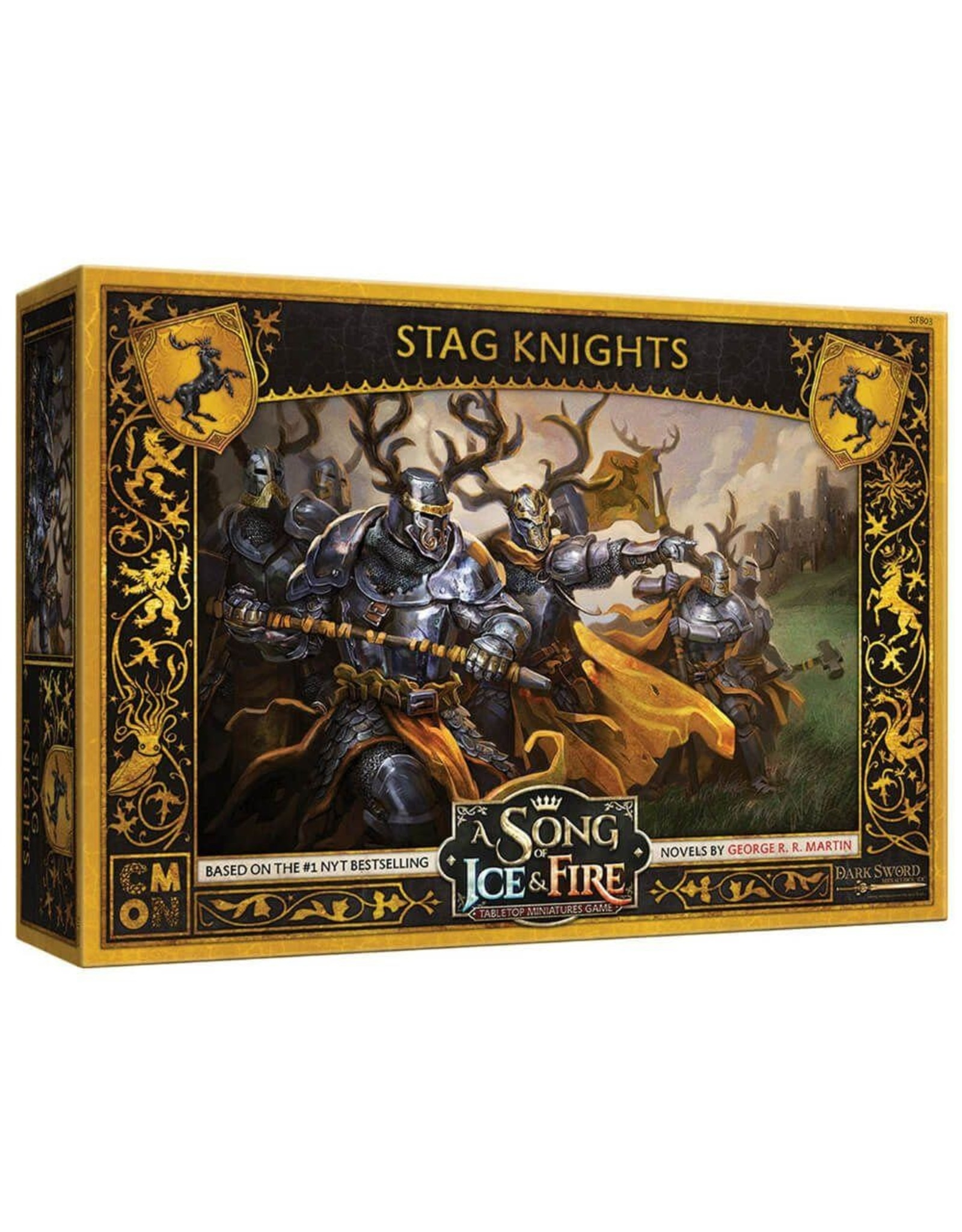 CMON A SONG OF ICE & FIRE: STAG KNIGHTS (STREET DATE 2021)