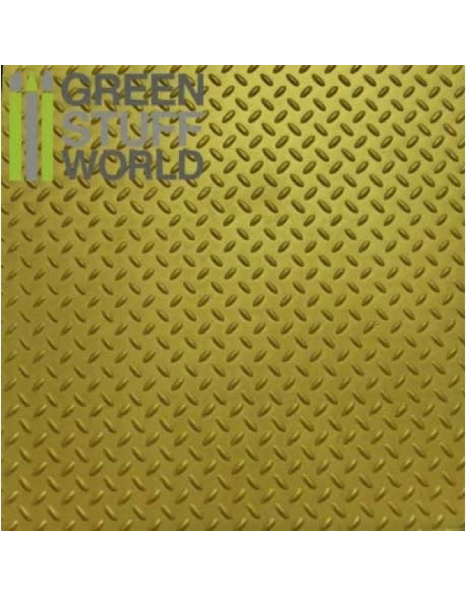 Green Stuff World ABS PLASTICARD: DIAMOND TEXTURED SHEET