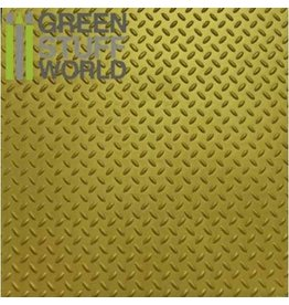 Green Stuff World ABS PLASTICARD: DIAMOND TEXTURED SHEET