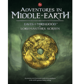 Cubicle 7 Adventures in Middle-Earth: Loremaster's Screen