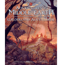 Cubicle 7 ADVENTURES IN MIDDLE-EARTH: WILDERLAND ADVENTURES