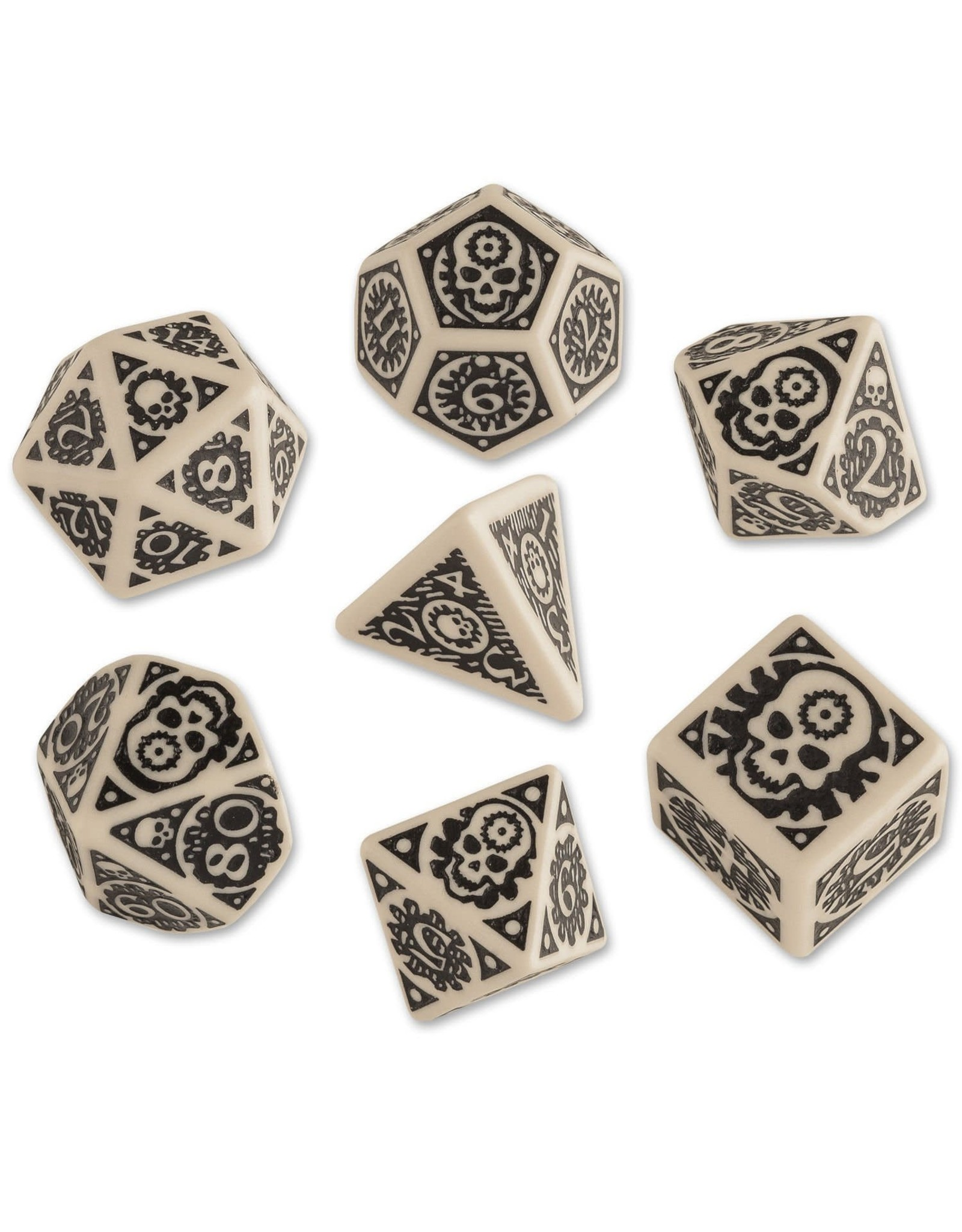 ADVENTURES IN THE EAST MARK RPG DICE SET 7PC