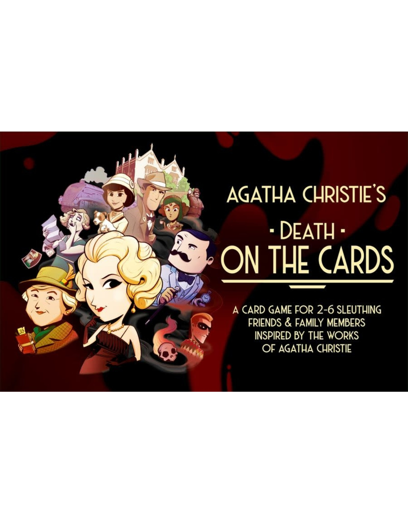 Modiphius Entertainment AGATHA CHRISTIE'S DEATH ON THE CARDS