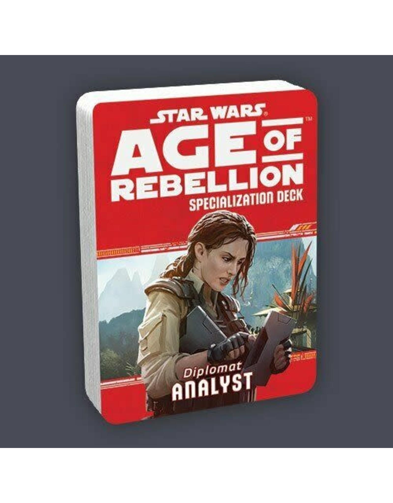 Fantasy Flight AGE OF REBELLION: ANALYST
