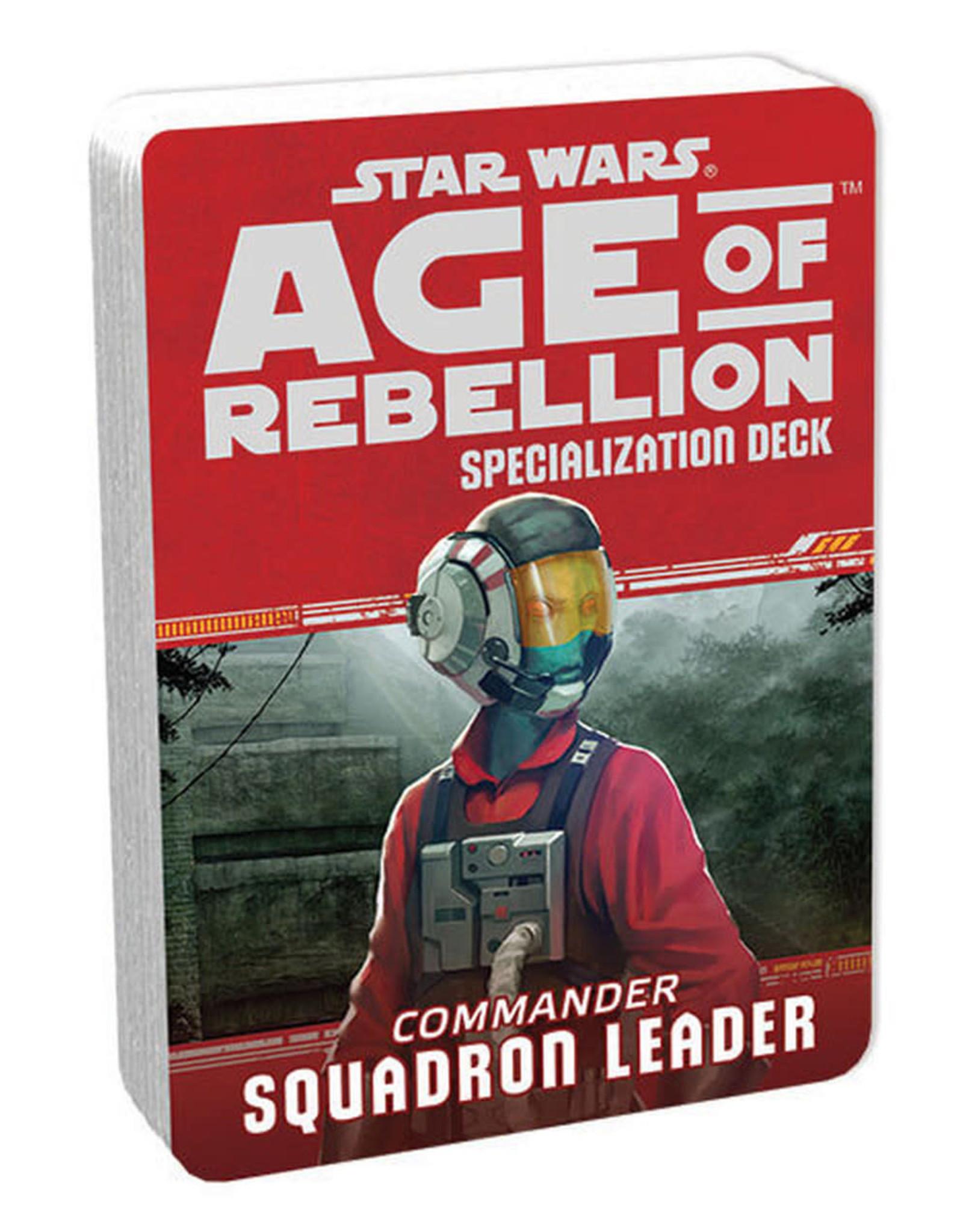Fantasy Flight AGE OF REBELLION: COMMANDER SQUADRON LEADER
