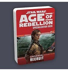 Fantasy Flight AGE OF REBELLION: UNIVERSAL RECRUIT