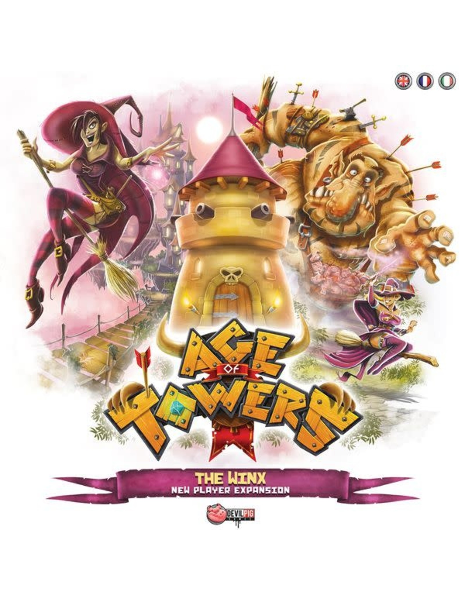 Devil Pigs AGE OF TOWERS: THE WINX