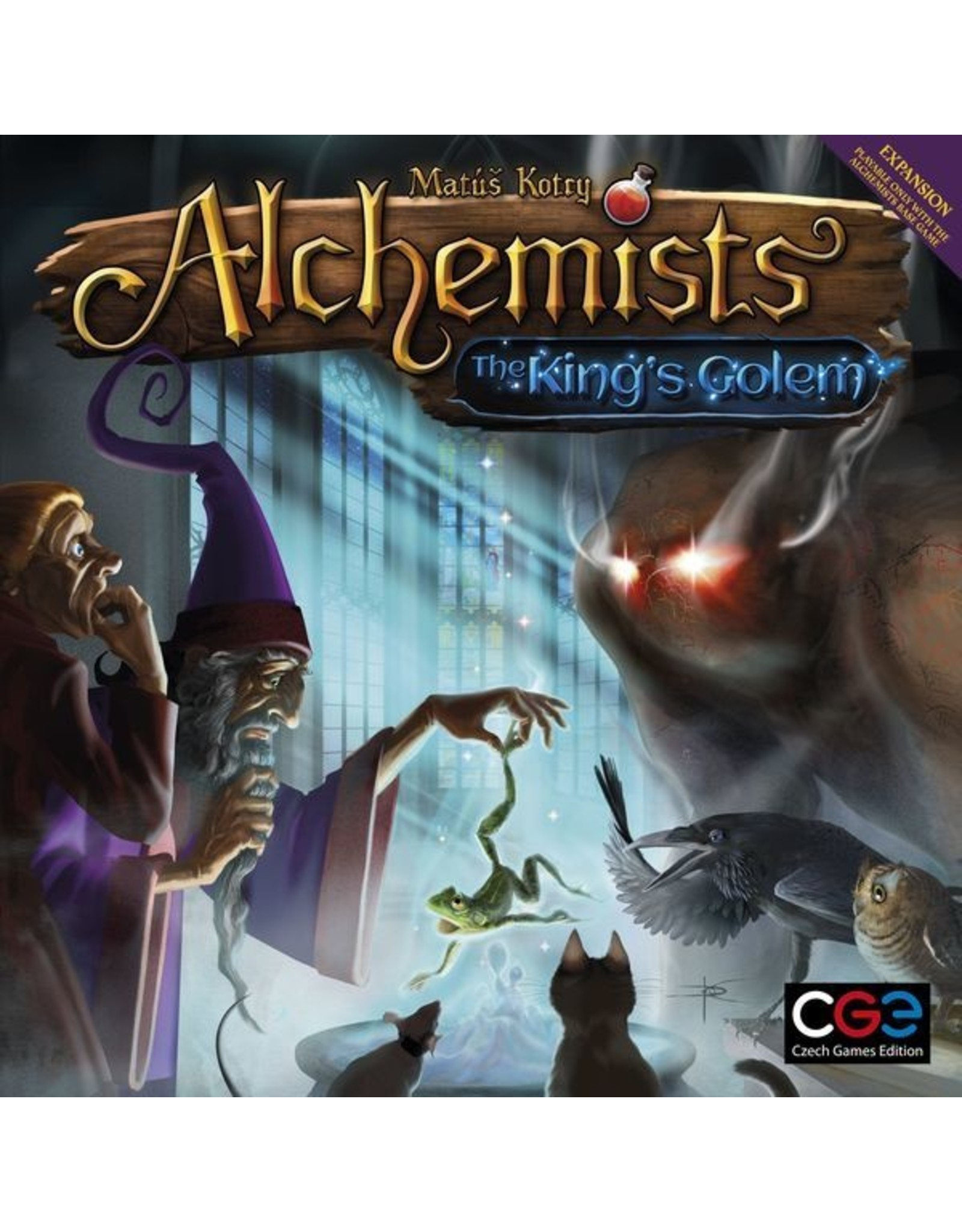 Czech Games Edition ALCHEMISTS: THE KINGS GOLEM