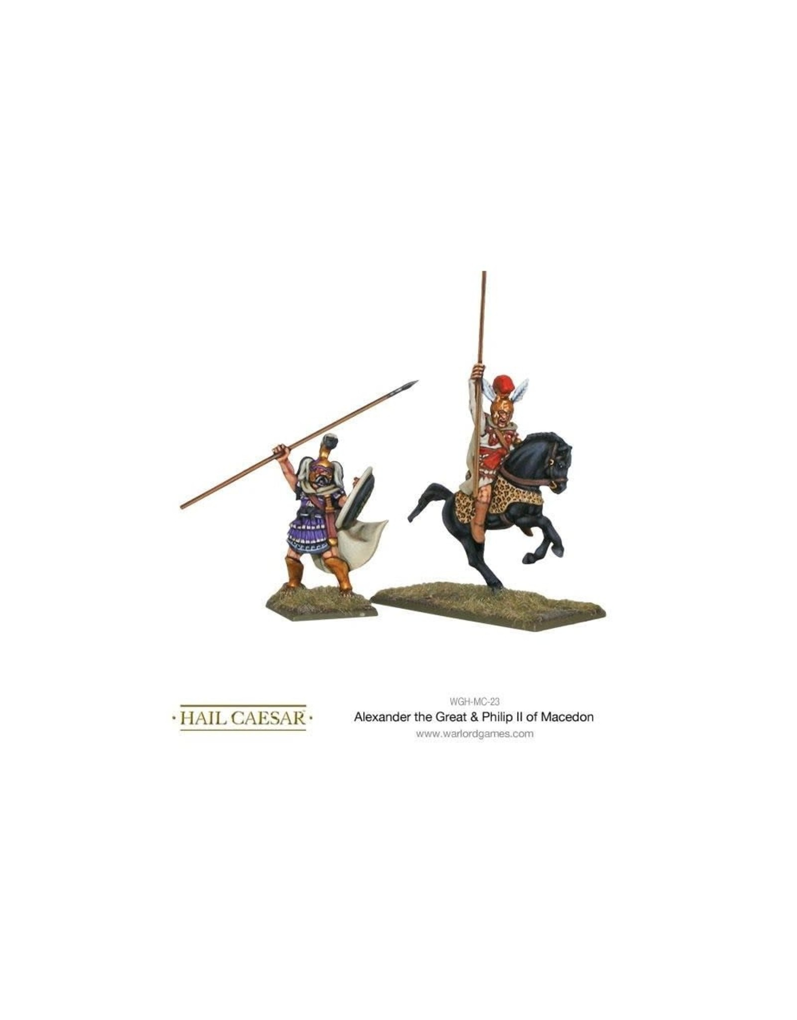 ALEXANDER THE GREAT & PHILIP II OF MACEDON