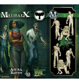 WYRD MINIATURES MALIFAUX 2ND ED: ASURA ROTEN (UPDATED TO M3E)