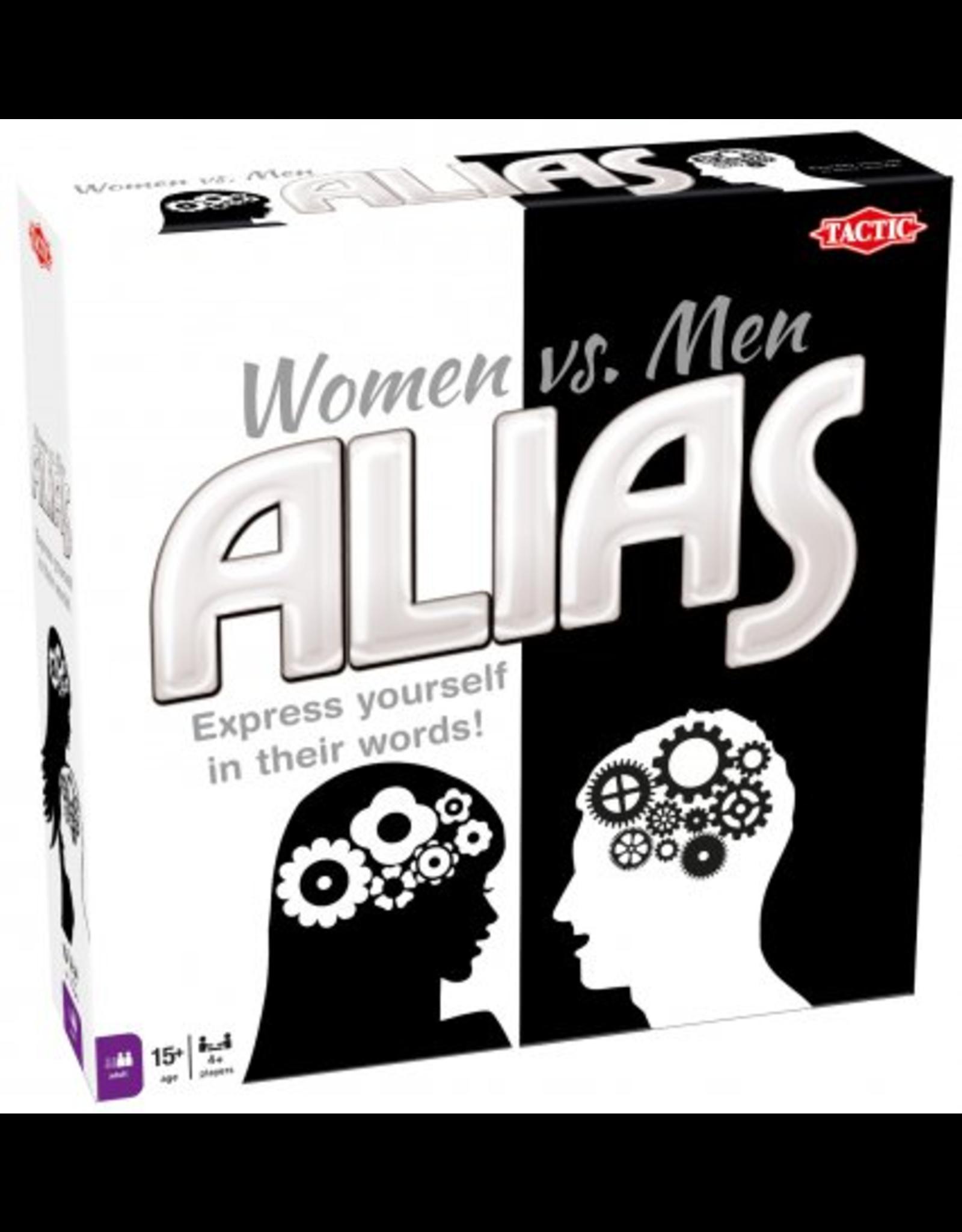 ALIAS: WOMEN VS MEN