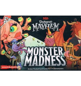 Wizards of the Coast DUNGEONS & DRAGONS: DUNGEON MAYHEM: MONSTER MADNESS