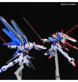 BANDAI HG 1:144 FREEDOM GUNDAM VS FORCE IMPULSE GUNDAM (BATTLE OF DESTINY SET) [METALLIC]