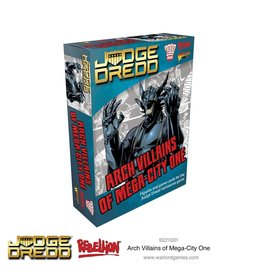 Warlord Games JUDGE DREDD: ARCH VILLAINS OF MEGA CITY 1