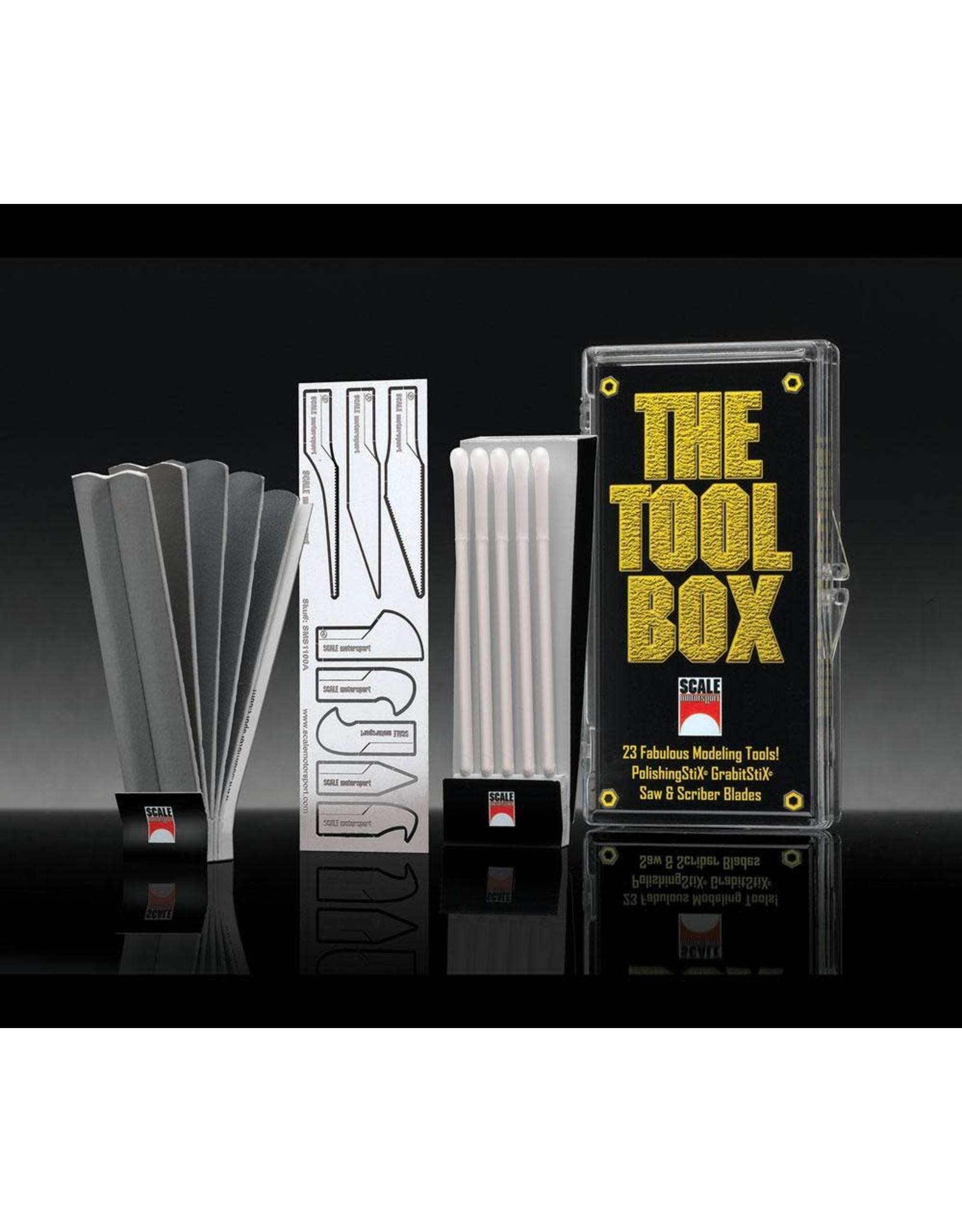 Scale Motorsport THE TOOLBOX - 23 PIECES