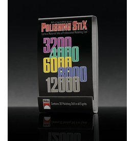 Scale Motorsport POLISHING STIX - MATCHBOOK 30 PIECES
